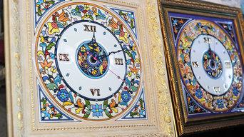 Квадратные часы