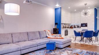 Квартира 130м2 в стиле Нео классика