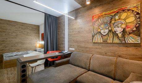Houzz тур: Квартира архитектора с детской в Новосибирске