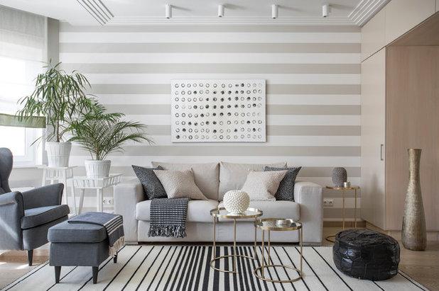 Contemporain Salon by Юрьева Галина | Interior Design and Decorating |