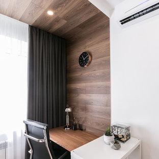 Пример оригинального дизайна: маленькая гостиная комната