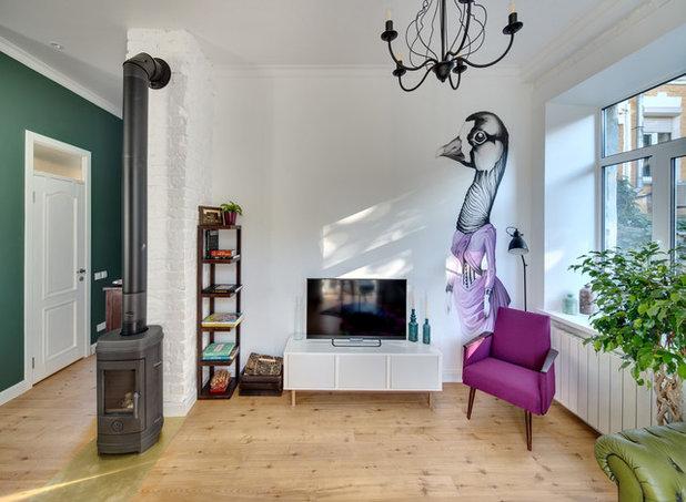 Скандинавский Гостиная Квартира для сдачи в аренду, Киев