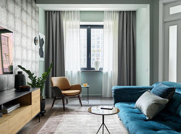 Современный Семейная комната by Юлия Тельнова
