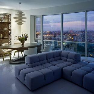 Foto di un soggiorno minimal