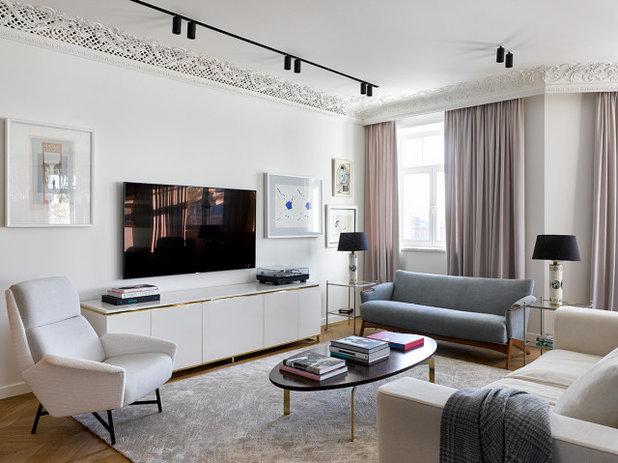Современный Семейная комната by Мастерская Кати Гердт