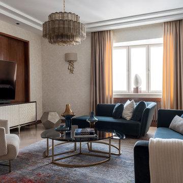 Квартира с видом на Серебряный бор. Москва.