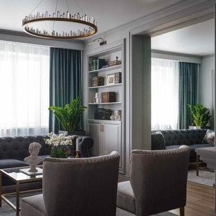 Mittelgroßes Klassisches Wohnzimmer in Sonstige