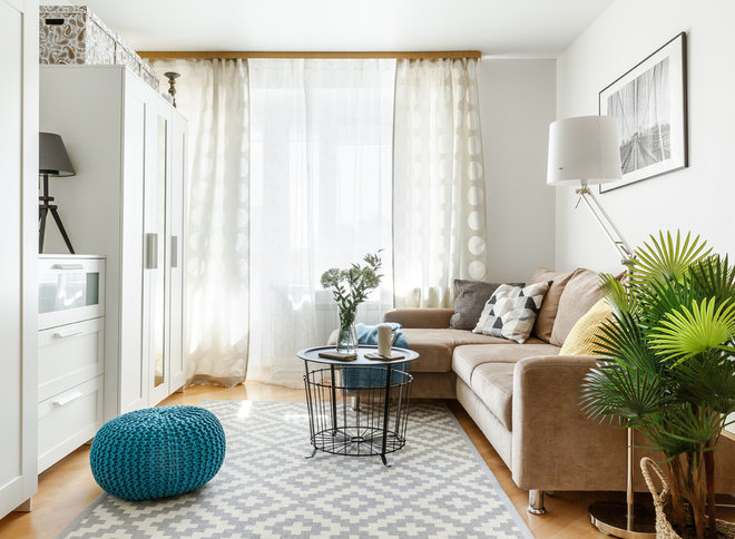 Scandinavian Living Room by Ната Хатисашвили | N-HOME
