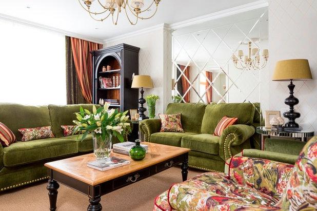 American Traditional Living Room by Дизайн-бюро DAO decor