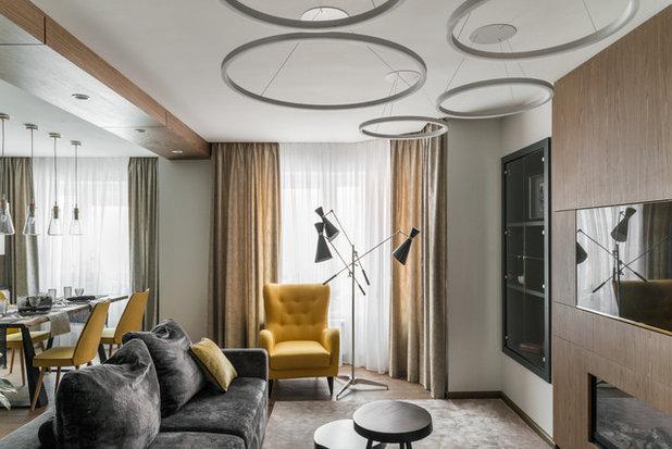 Современный Гостиная by 121 Interior Architects