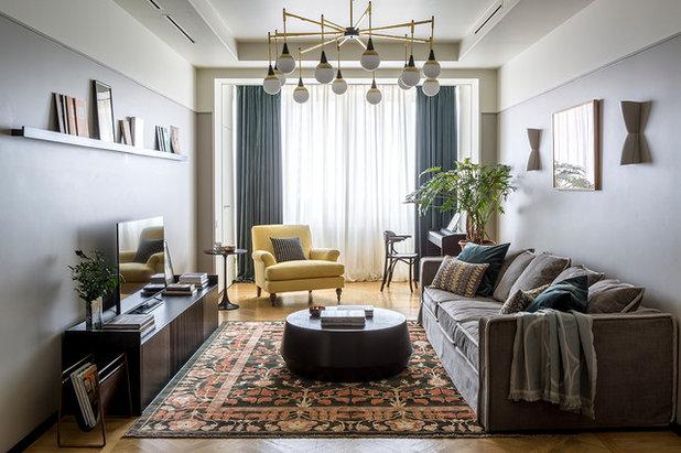 Современный Семейная комната by Лена Зуфарова