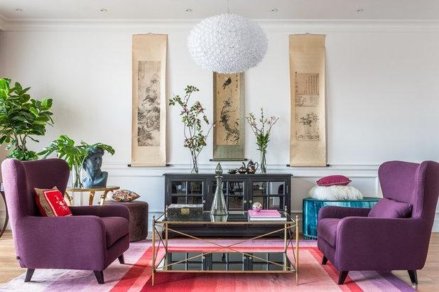 Contemporary Living Room by «Ателье Интерьера»