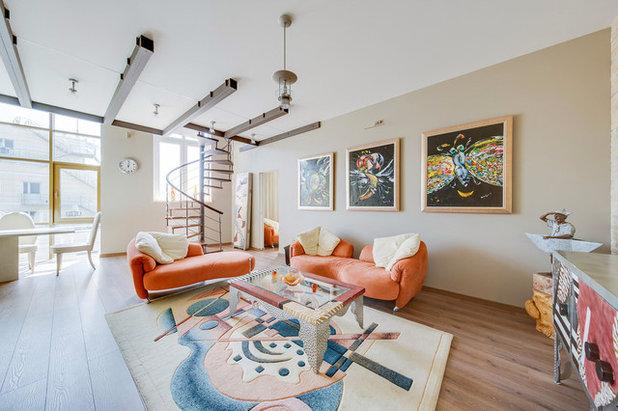 Eclectic Living Room by Uliana Grishina | Photography