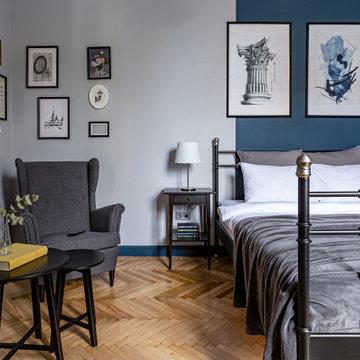 Квартира в парижско-петербургском стиле