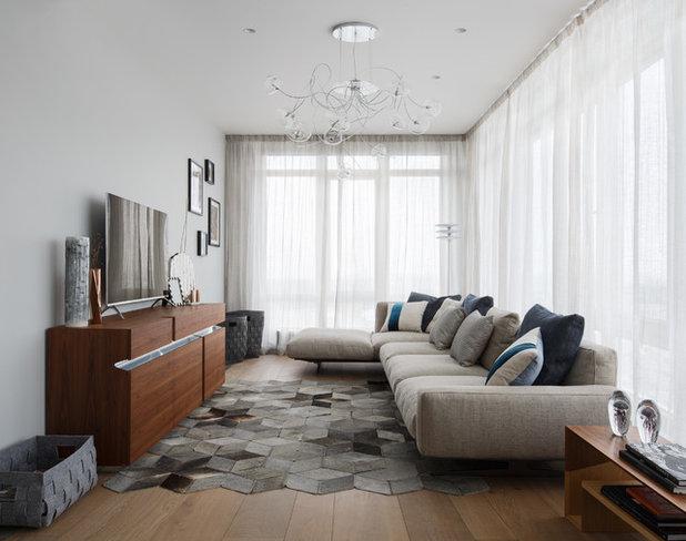 Современный Семейная комната by Мадина Выходцева