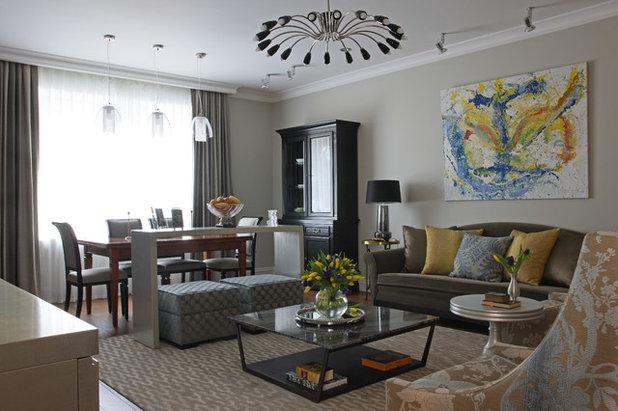 Современный Гостиная by Irina Bubnova Interior Design