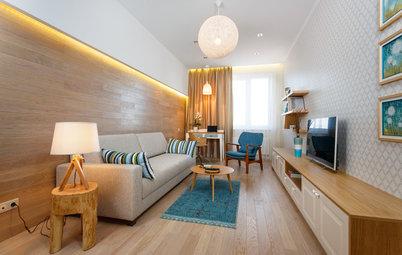 Houzz тур: Эко-квартира для отдыха у моря
