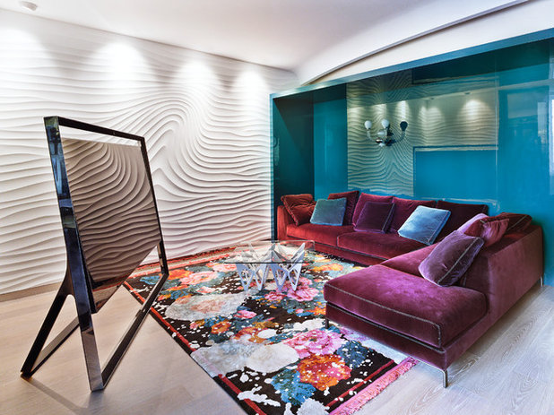 Modern Wohnbereich by Mike Shilov