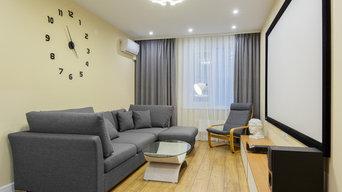 Лаконичная квартира для молодого человека 68 кв.м