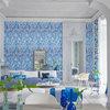 9 espacios decorados con azul donde ponerse a salvo del calor