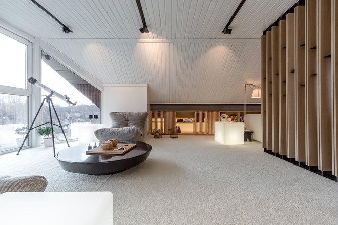 Современный Семейная комната by Архитектурное бюро LOFTING