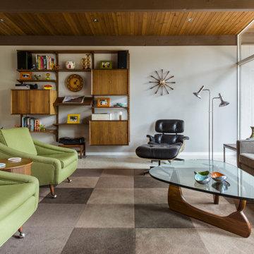 """Мебель и интерьеры """" Mid-century """"."""