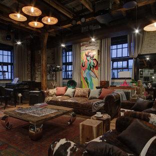 Foto di un soggiorno industriale