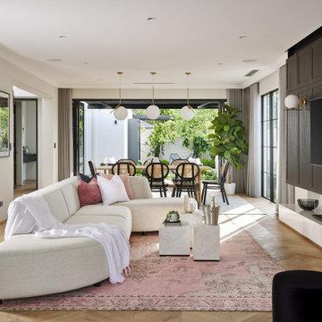 Парижская элегантность. Интерьер дома в Западной Австралии