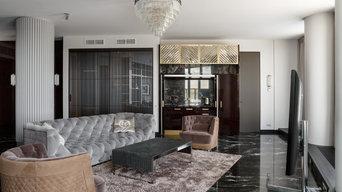Проект 2-х уровневых апартаментов
