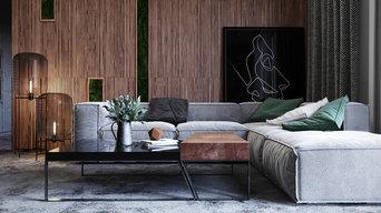 Проект интерьера квартиры в Москве