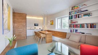 Проект реконструкции 3-х км. квартиры (Брно, Чехия) Дизайн: Ing.arch. Radek
