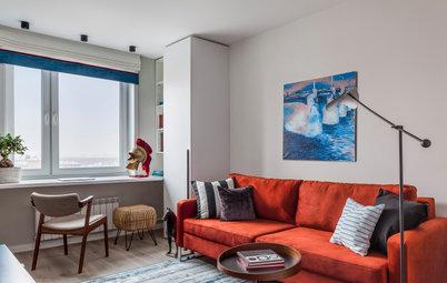 До и после: Светлая квартира 44 кв.м в «доме на ножках»