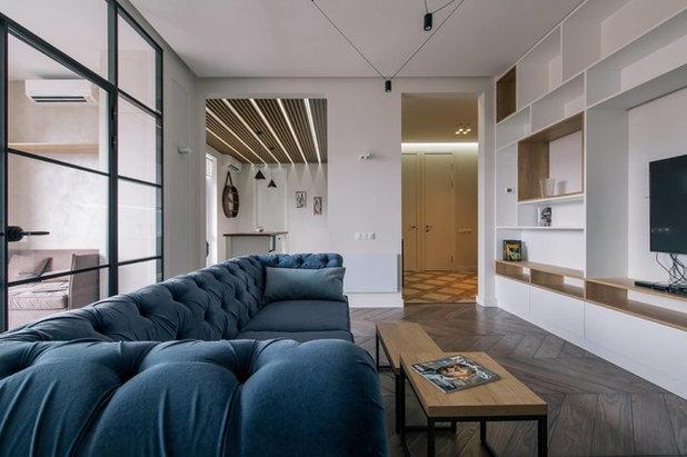 Современный Гостиная by TABOORET Interiors Lab