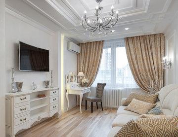 Реализованный проект квартиры в стиле итальянской классики в центре Петербурга