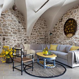Pareti in pietra per soggiorno - Foto e idee | Houzz