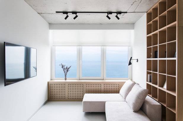 Contemporary Living Room by Space Odyssey Design