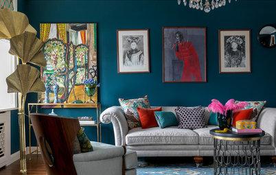 Houzz тур: Яркая квартира с небольшими комнатами