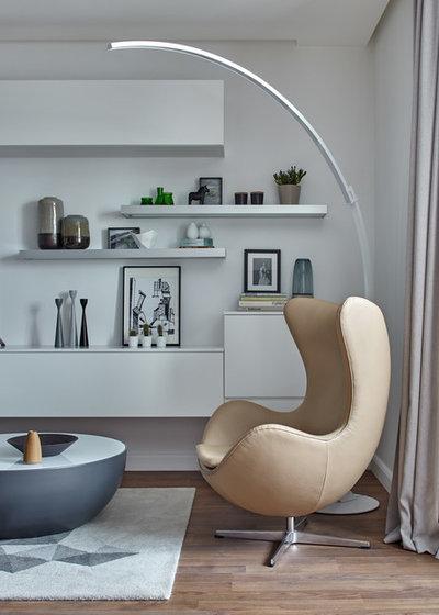 Skandinavisch Wohnbereich by FRUKTOV INTERIORS