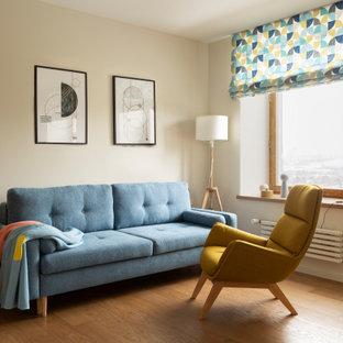 Неиссякаемый источник вдохновения для домашнего уюта: гостиная комната в скандинавском стиле