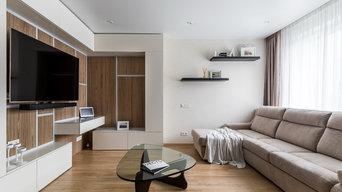 Трехкомнатная квартира для молодой пары