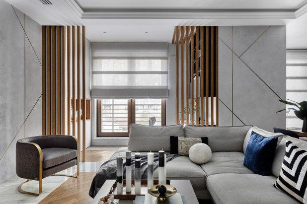 Современный Гостиная by Дизайн-студия US Interiors