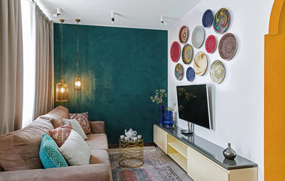 8 Ways to Jack Up Colour in Your Living Room