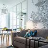 Houzz Украина: Скандинавский дизайн двухкомнатной квартиры 43 кв.м