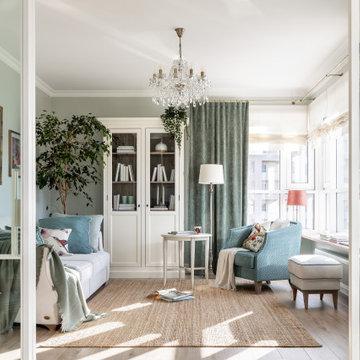 Юг Франции в современной квартире