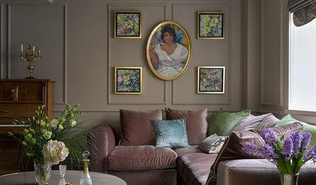 Вопрос: Как подобрать цвет дивана к интерьеру