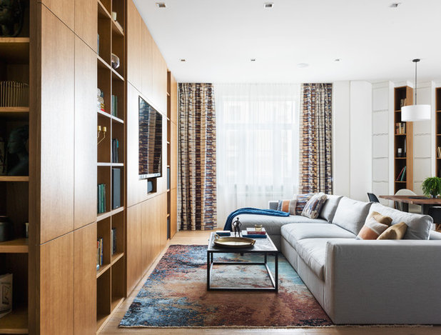 Contemporary Living Room by StudioMR