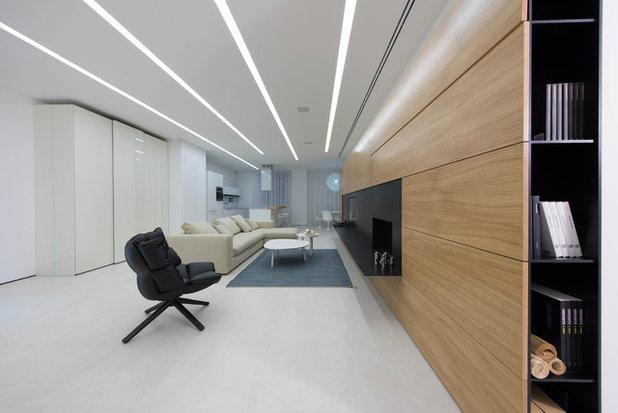 Современный Гостиная by yurima architects
