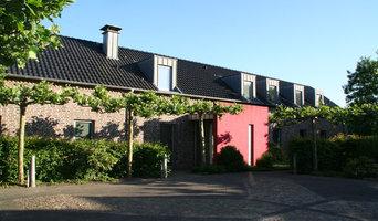 alter Stall umgebaut zum Wohnhaus, außen Landhausstil, innen Modern