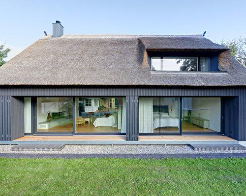 Fassadengestaltung holzoptik  Haus - Ideen, Design & Bilder