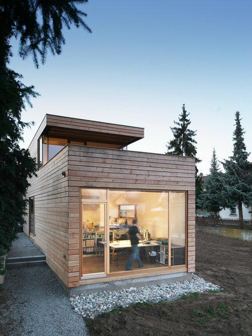 Modern two story exterior design ideas renovations photos for 2 story exterior design